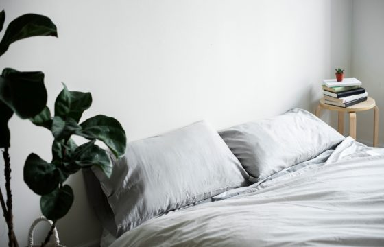 soft bed pillows and cotton for sleeping